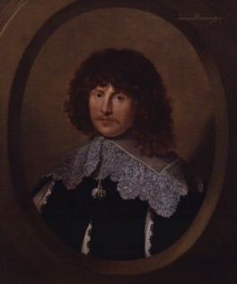 James Harrington, by Unknown artist, circa 1635 - NPG 513 - © National Portrait Gallery, London