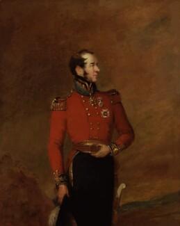 William George Harris, 2nd Baron Harris, by William Salter - NPG 3722