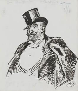 Sir Augustus Henry Glossop Harris, by Harry Furniss - NPG 3584