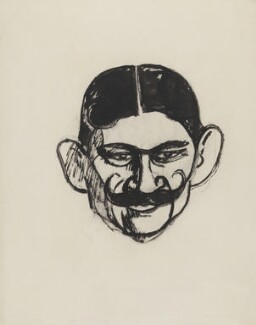Frank Harris, by John Duncan Fergusson - NPG 4883