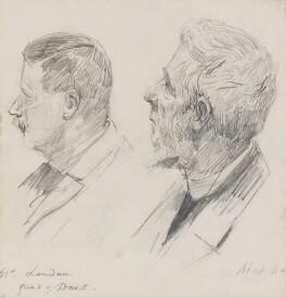 Mr Louden; Mat Harris, by Sydney Prior Hall - NPG 2268