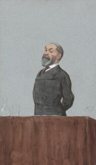 Frederic Harrison, by Carlo Pellegrini - NPG 2718