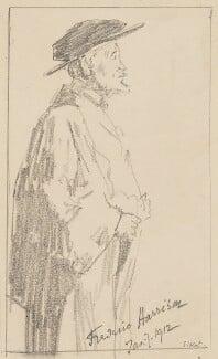 Frederic Harrison, by Walter Sickert - NPG 2214