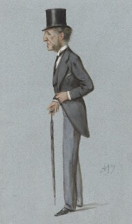 Dudley Francis Stuart Ryder, 3rd Earl of Harrowby, by Carlo Pellegrini - NPG 2577