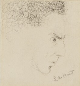 Solomon Alexander Hart, by Charles Hutton Lear - NPG 1456(9)