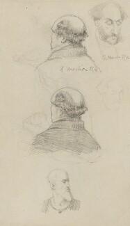 Solomon Alexander Hart; Daniel Maclise, by Charles Bell Birch - NPG 2476