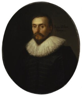 William Harvey, attributed to Daniel Mytens, circa 1627 - NPG 5115 - © National Portrait Gallery, London