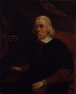 William Harvey, possibly after Richard Gaywood, based on a work of circa 1649 - NPG 60 - © National Portrait Gallery, London