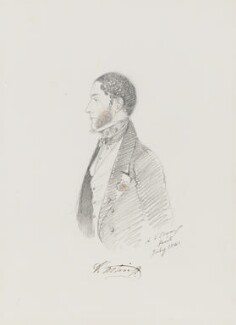 George Rawdon-Hastings, 2nd Marquess of Hastings, by Alfred, Count D'Orsay - NPG 4026(33)