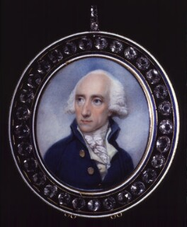 Warren Hastings, by Richard Cosway - NPG 6286