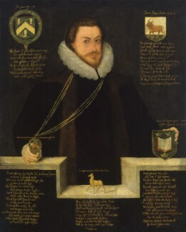 Sir Christopher Hatton, by Unknown artist - NPG 1518