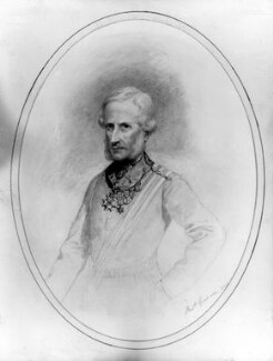 Sir Henry Havelock, Bt, by Frederick Goodall - NPG 4835