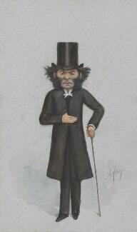 Hugh Reginald Haweis, by Carlo Pellegrini - NPG 2719
