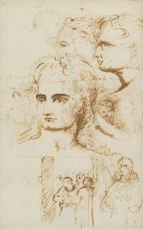 Benjamin Robert Haydon; John Keats, by John Keats, and  Benjamin Robert Haydon - NPG 3250
