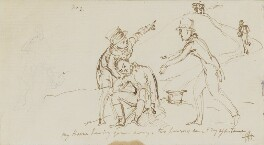 Sir George Hayter, by Sir George Hayter, 1821 - NPG 3082(2) - © National Portrait Gallery, London
