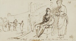 Sir George Hayter, by Sir George Hayter, 1821 - NPG 3082(3) - © National Portrait Gallery, London