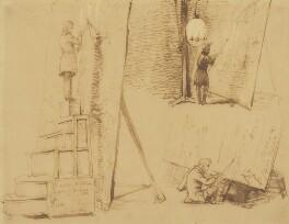 Sir George Hayter, by Sir George Hayter, 1843 - NPG 1103 - © National Portrait Gallery, London