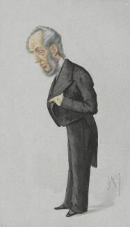 Abraham Hayward, by Carlo Pellegrini - NPG 4072