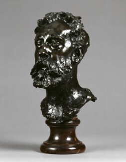 William Ernest Henley, by Auguste Rodin - NPG 1697