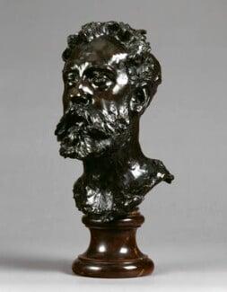 William Ernest Henley, by Auguste Rodin, 1884-1886 - NPG  - © National Portrait Gallery, London