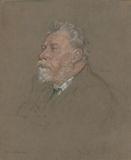 William Ernest Henley, by Francis Dodd, 1900 - NPG 4420 - © National Portrait Gallery, London