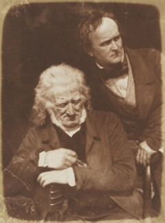 John Henning; Alexander Handyside Ritchie, by David Octavius Hill, and  Robert Adamson - NPG P6(24)