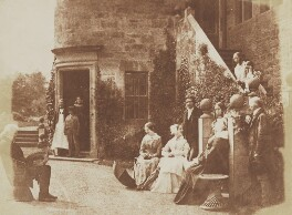 Henry Cockburn, Lord Cockburn, his family, David Octavius Hill and John Henning, by David Octavius Hill, and  Robert Adamson - NPG P6(238)
