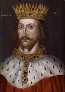 King Henry II, by Unknown artist - NPG 4980(4)