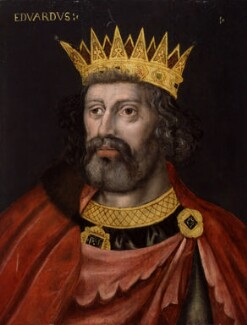King Edward I, by Unknown artist - NPG 4980(6)