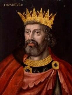 King Edward I, by Unknown artist, 1597-1618 - NPG 4980(6) - © National Portrait Gallery, London
