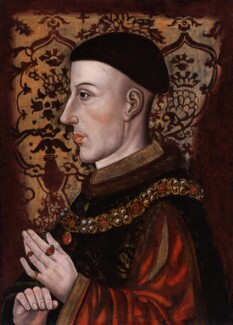 King Henry V, by Unknown artist, late 16th or early 17th century - NPG 545 - © National Portrait Gallery, London