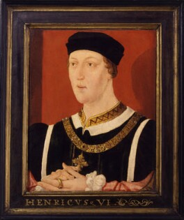 King Henry VI, by Unknown English artist, circa 1540 - NPG 2457 - © National Portrait Gallery, London