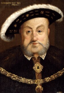 King Henry VIII, after Hans Holbein the Younger, probably 17th century - NPG 324 - © National Portrait Gallery, London