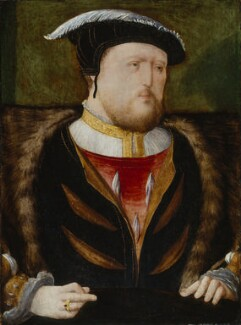 King Henry VIII, by Unknown Anglo-Netherlandish artist, circa 1535-1540 - NPG 1376 - © National Portrait Gallery, London