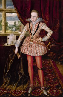 Henry, Prince of Wales, by Robert Peake the Elder - NPG 4515