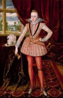 Henry, Prince of Wales, by Robert Peake the Elder, circa 1610 - NPG 4515 - © National Portrait Gallery, London
