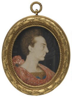 Henry, Prince of Wales, studio of Isaac Oliver - NPG 1572