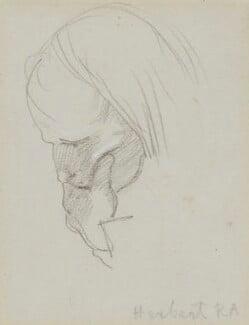 John Rogers Herbert, by Charles Hutton Lear - NPG 1456(10)