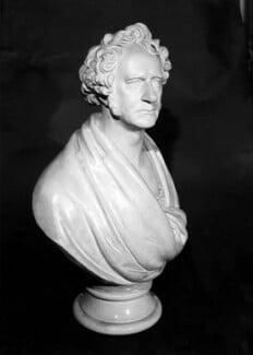 Sir John Frederick William Herschel, 1st Bt, by Edward Hodges Baily, 1850 - NPG 4056 - © National Portrait Gallery, London