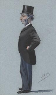 Farrer Herschell, 1st Baron Herschell, by Sir Leslie Ward - NPG 2721