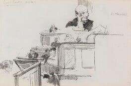Farrer Herschell, 1st Baron Herschell, by Sydney Prior Hall - NPG 2343