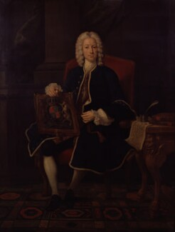 John Hervey, Baron Hervey of Ickworth, studio of Jean Baptiste van Loo - NPG 167