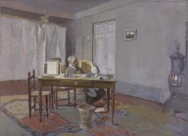 Maurice Henry Hewlett, by James Kerr-Lawson - NPG 2800