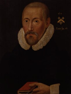 Arthur Hildersham, by Unknown artist, 1619 - NPG 1575 - © National Portrait Gallery, London