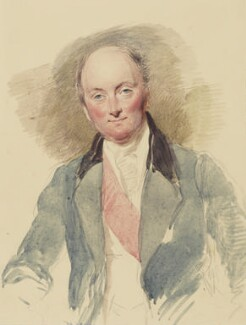 Rowland Hill, 1st Viscount Hill, by George Richmond - NPG 1055