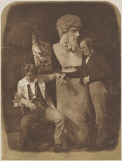 'The Morning After' 'He greatly daring dined', by David Octavius Hill, and  Robert Adamson - NPG P6(155)