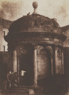 McKenzie's Tomb, Greyfriars, by David Octavius Hill, and  Robert Adamson - NPG P6(228)