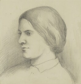 Octavia Hill, by a member of the Barton family, circa 1864 -NPG 3804 - © National Portrait Gallery, London