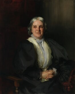 Octavia Hill, by John Singer Sargent, 1898 -NPG 1746 - © National Portrait Gallery, London