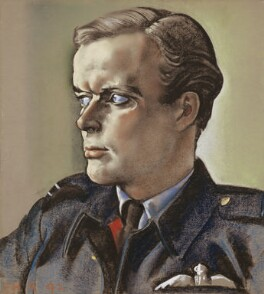 Richard Hillary, by Eric Kennington, 1942 - NPG  - © National Portrait Gallery, London